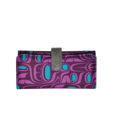 Wallet - Pacific Formlines (Purple)