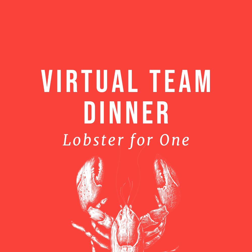Virtual Team Dinner Lobster Kit
