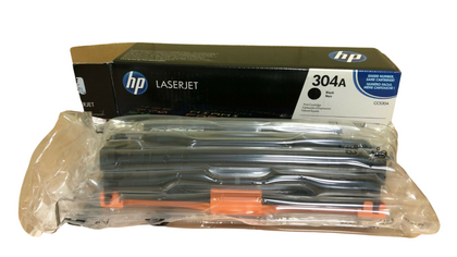 Original HP CC530A (304A) Black Laserjet Printer Toner Cartridge