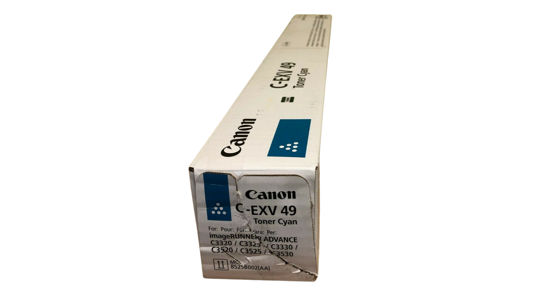 Genuine Canon C-EXV 49 Toner Cartridge Cyan