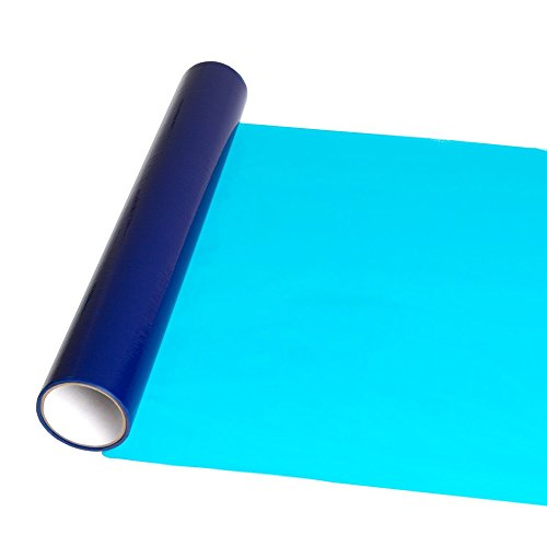 InvisiShield Hardwood Floor Protector Film - 24 inch x 200 Foot Adhesive Plastic Floor Protection Film