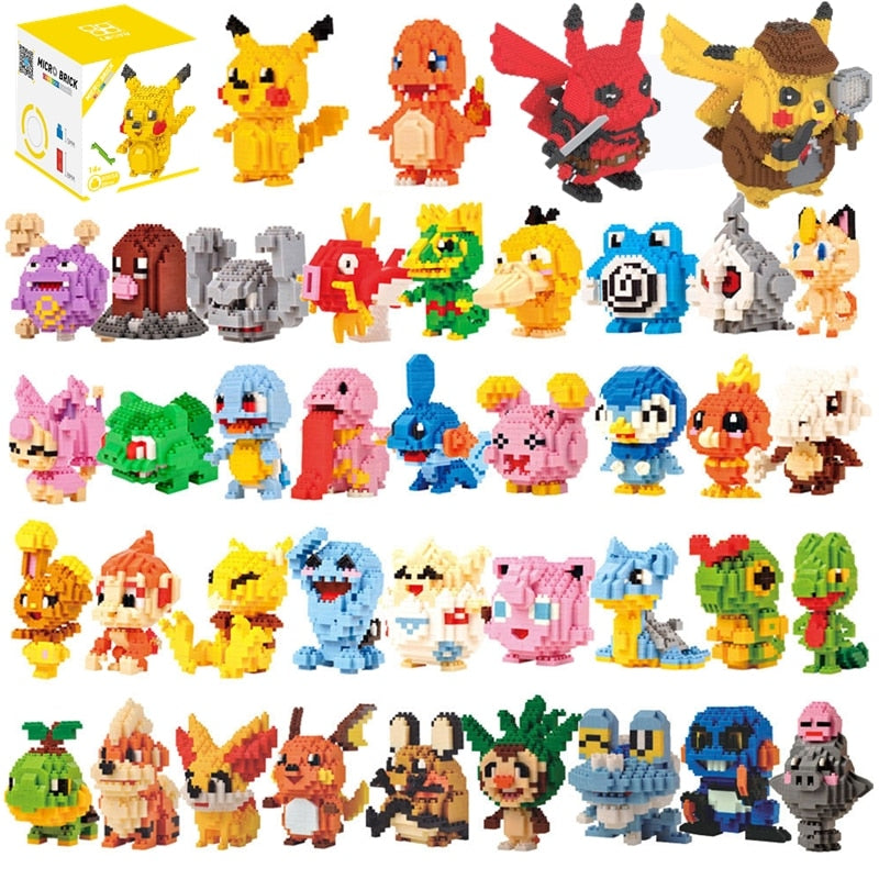 Mini-Blocs de construction Pokemon
