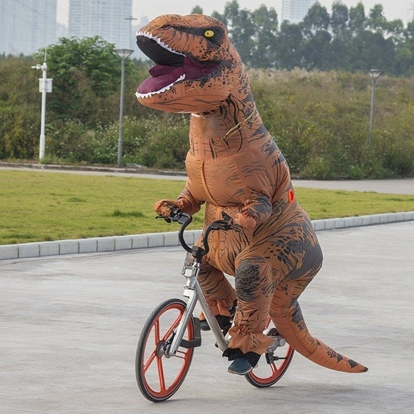 Costume de T-Rex gonflable