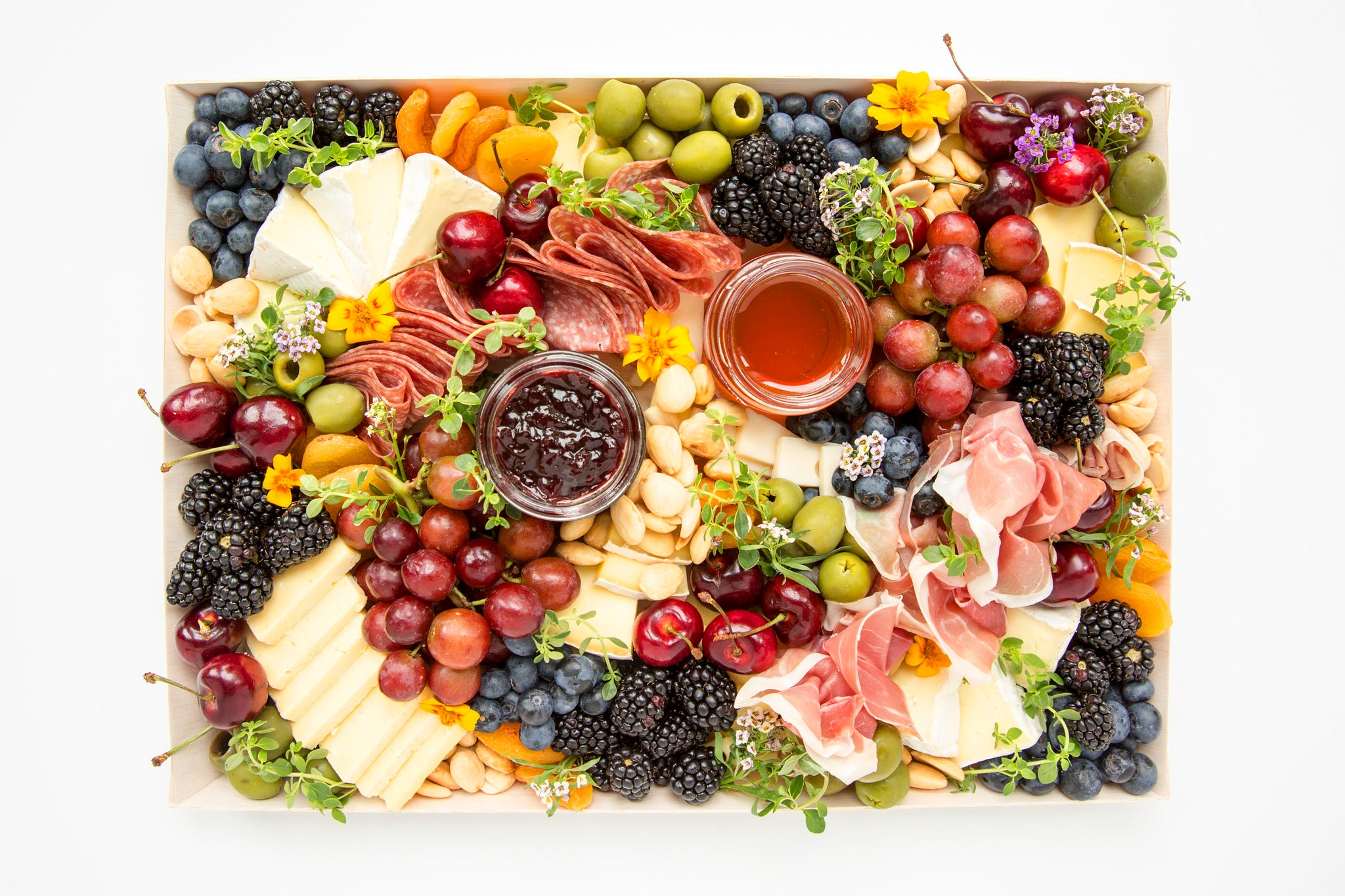 Cheese + Charcuterie Board