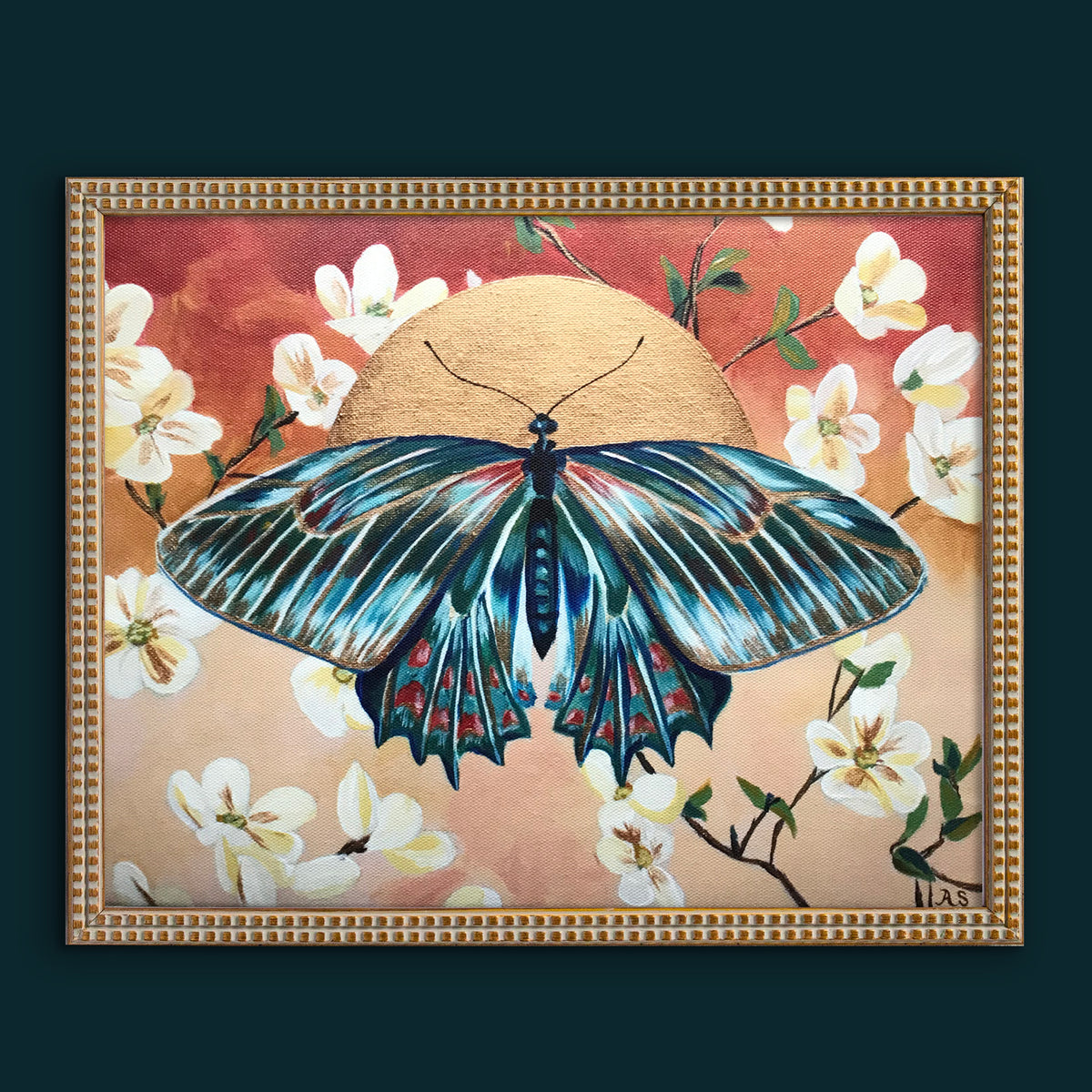 """Butterfly Sunrise"" Canvas Fine Art Print"