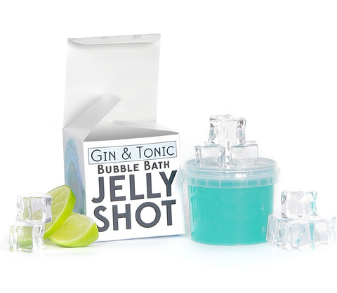 Gin and Tonic Bubble Bath Jelly Shot