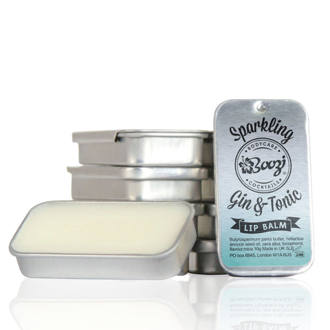 Sparkling Gin and Tonic Lip Balm