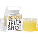 Mango and Ginger Margarita Bubble Bath Jelly Shot