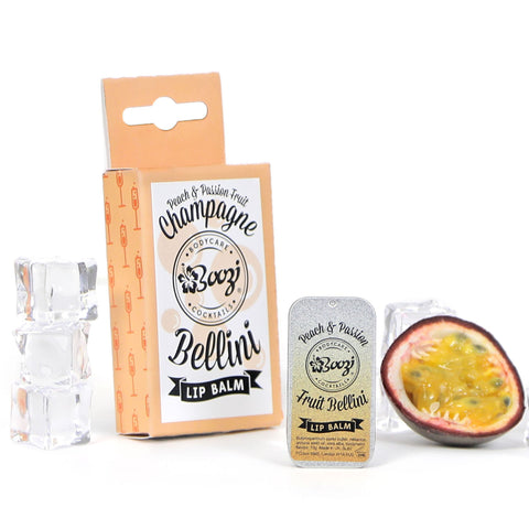 Peach & Passion Fruit Champagne Bellini Lip Balm