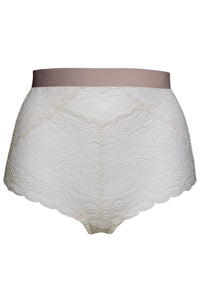 Amelie high waist - Whisper white
