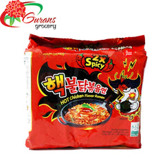 Double spicy Hot Chicken Flavour Ramen Noodle 5pack