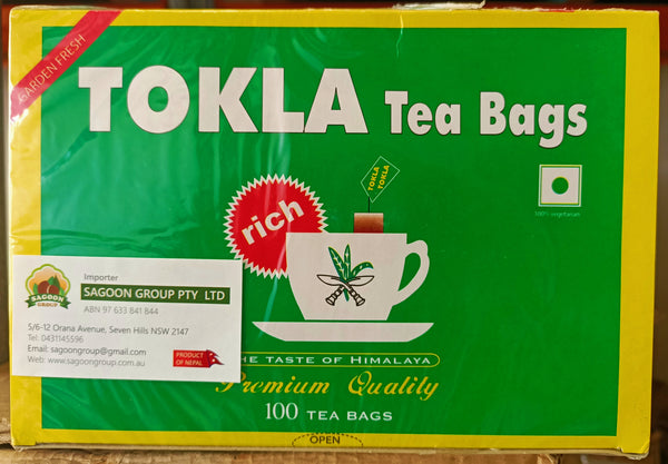 Tokla Tea bag 200 g