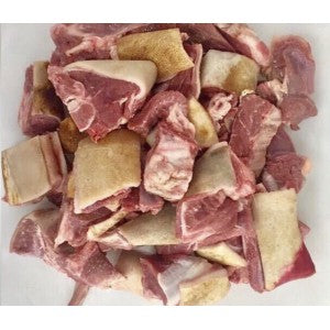 Skin On Goat Curry Pieces 1 kg
