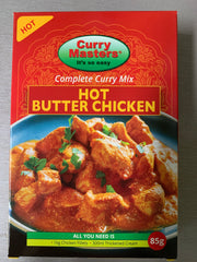 Hot Butter Chicken masala Curry Masters