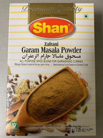 Garam masala powder 200g/7.05oz Shan