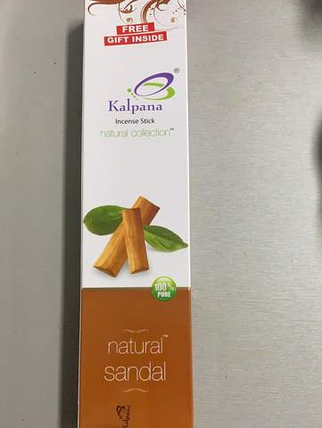 Kalpana Natural Sandal Incense Sticks