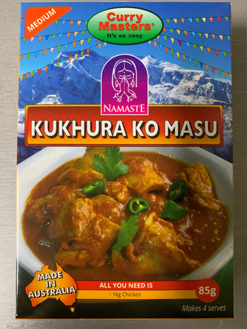 Curry Masters Kukhura ko masu 85gm