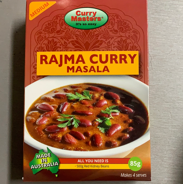Rajama curry masala Curry Masters 85g