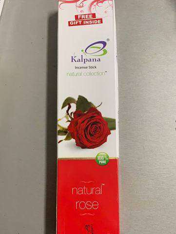 Kalpana Natural Rose Incense Sticks