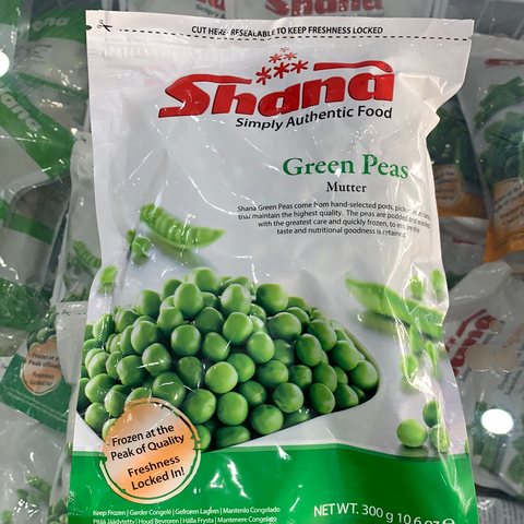 Green Peas (Mutter) Shana 300g