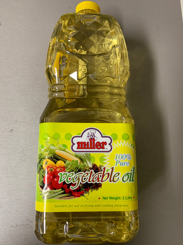 Vegetable Oil 2 lt