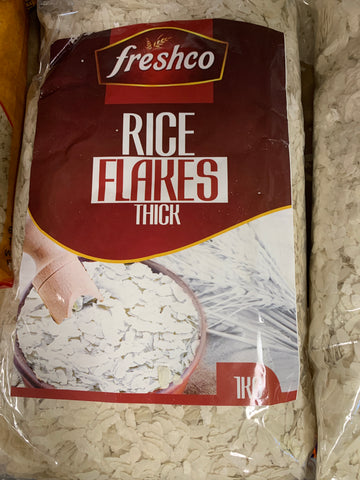 Rice Flakes Thick 1 kg Freshco
