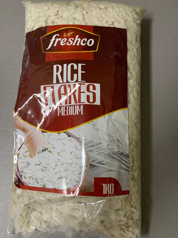 Rice Flakes Medium 1 kg Freshco