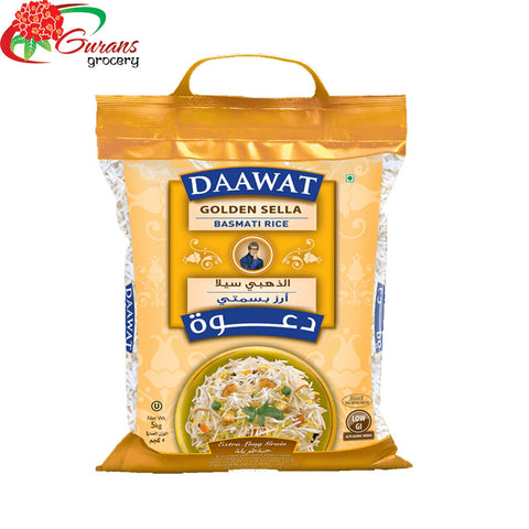 Daawat Golden Sella Rice 5 kg