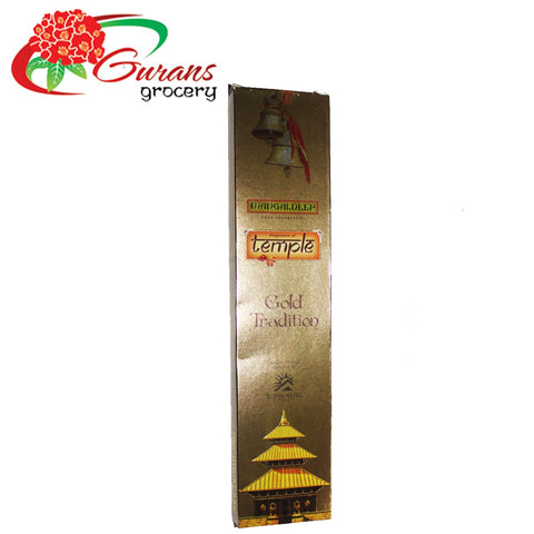MD Incense Sticks Gold 20sticksX12