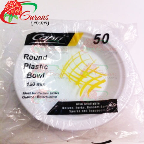 Plastic Bowl Medium microwable 50 pcs