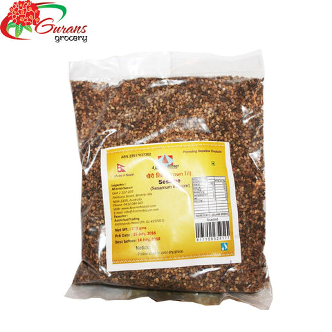 Brown sesame 200g 4 corner