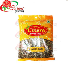 Black pepper Crusded 100g Uttam