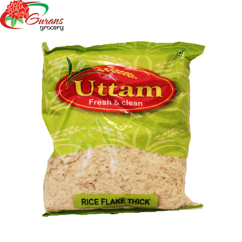 Rice Flake Thick 1 Kg Uttam
