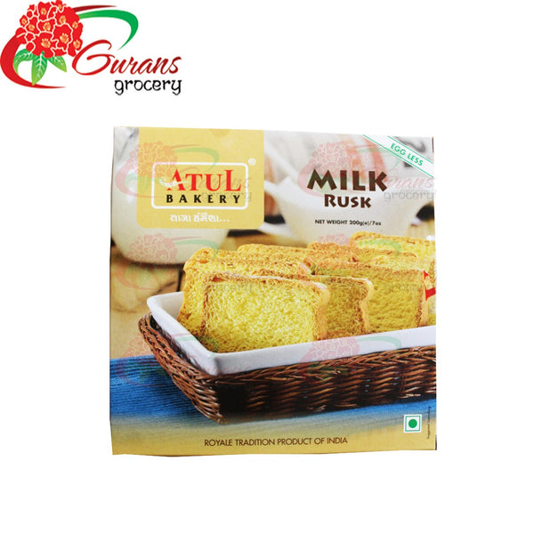 Egg less Milk Rusk 200 gm