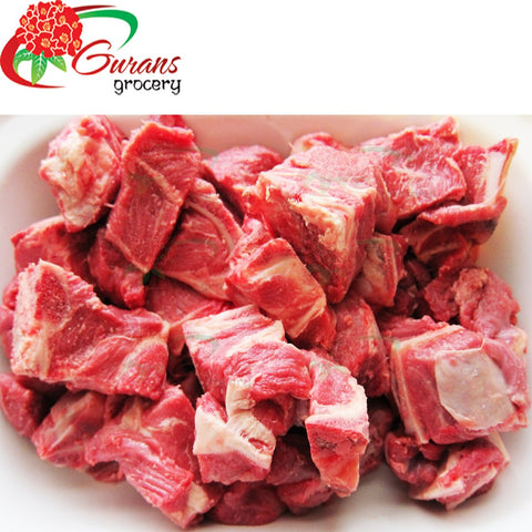 Boneless Mutton Curry Pieces 1 kg