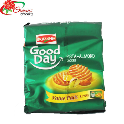 Britannia Good Day Pista 90g X 8 Value Pack