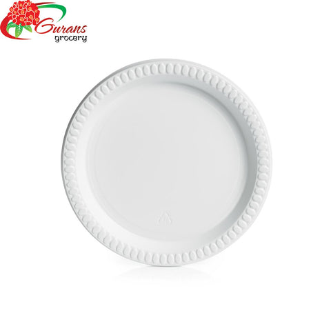"9"" Plastic Dinner Plate 50pcs"