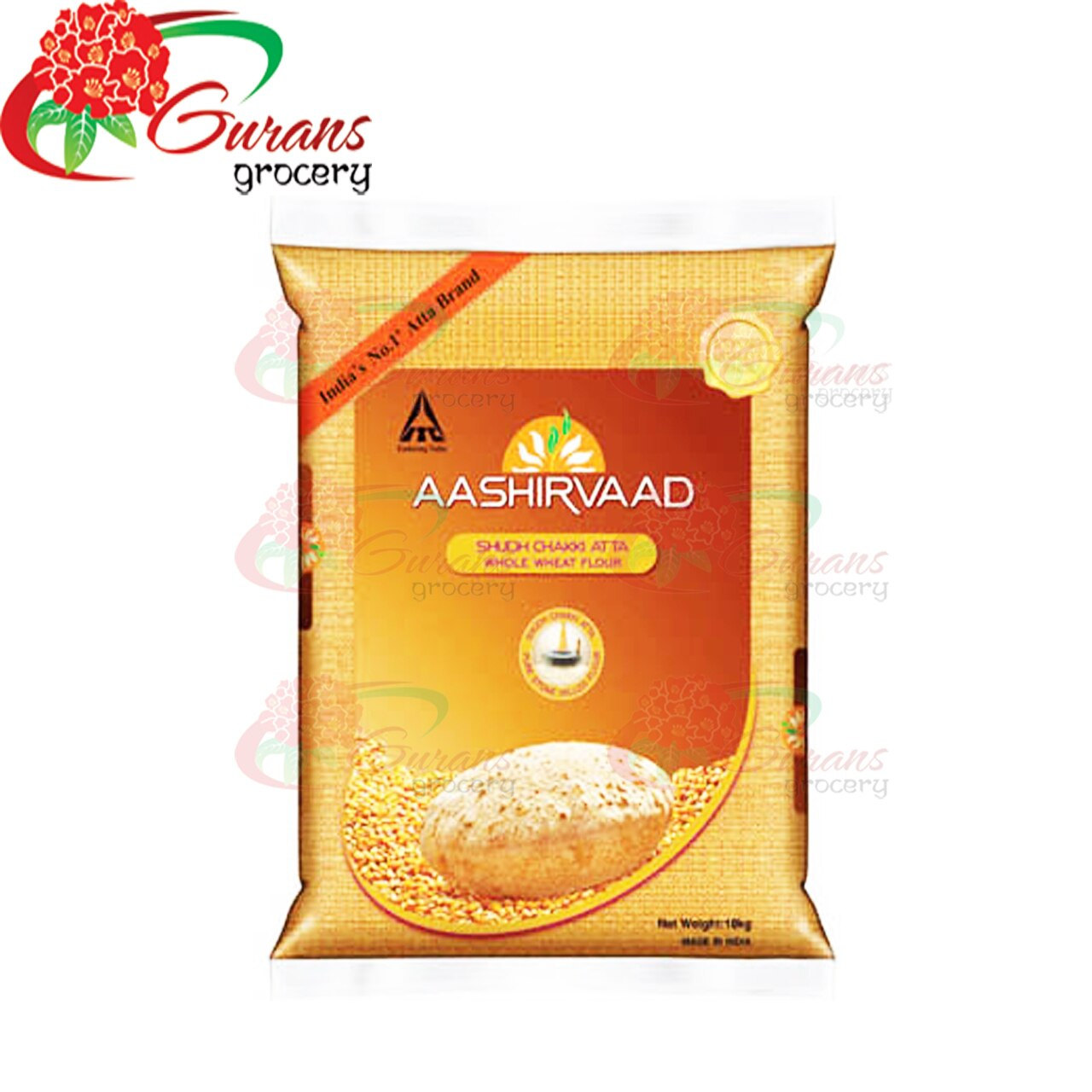 Aashirvaad Whole meal Atta 10kg