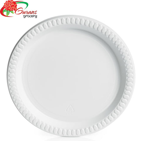 "8.5"" Plastic Dinner Plate 50pcs"
