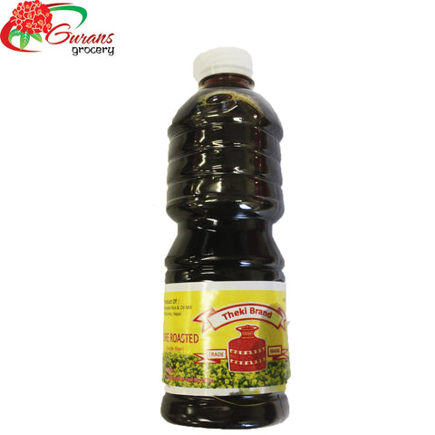 Theki Brand Roasted Mustard Oil 500ml