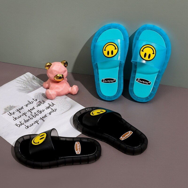 Kids Smile Led Slippers
