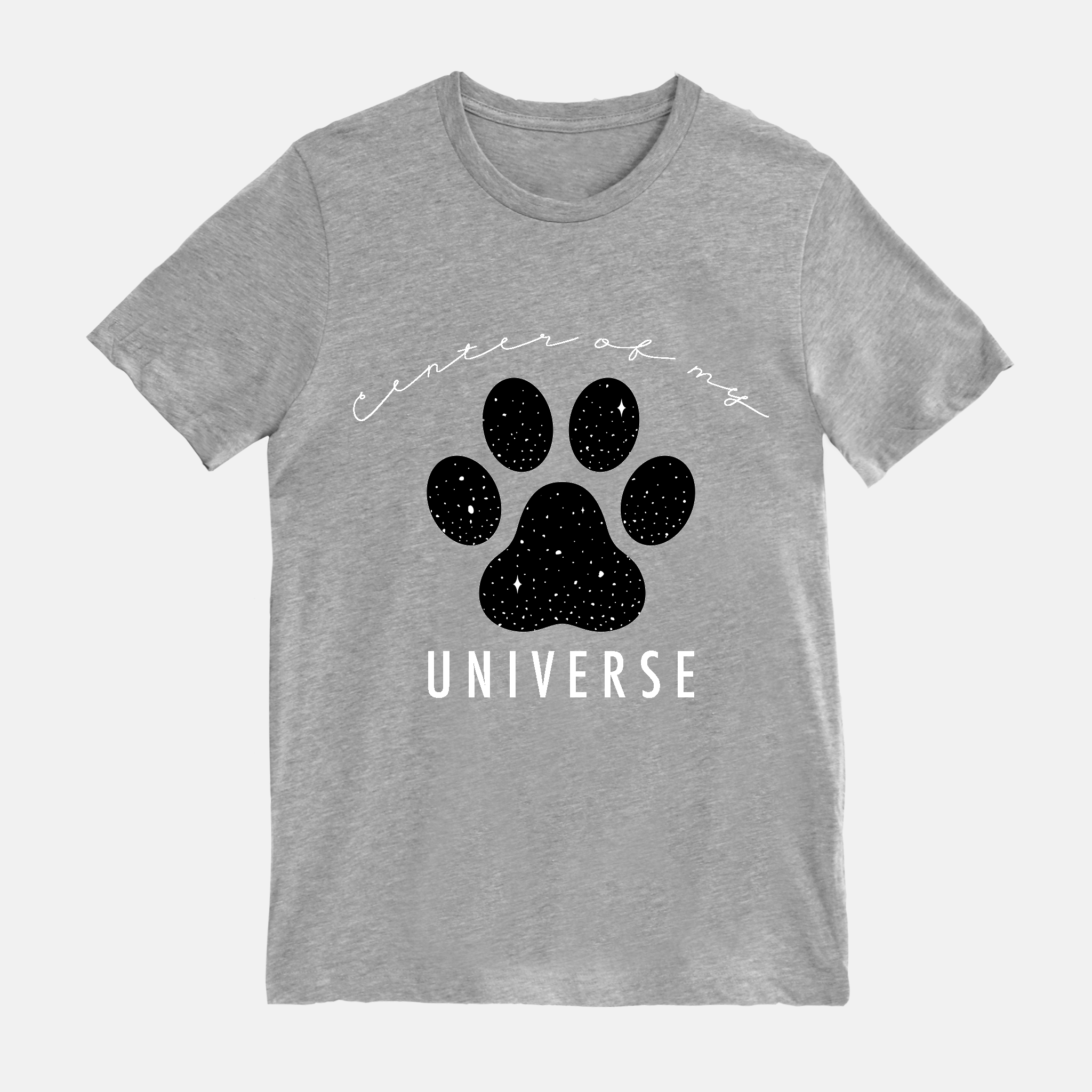 Center of My Universe Paw Short Sleeves Shirt