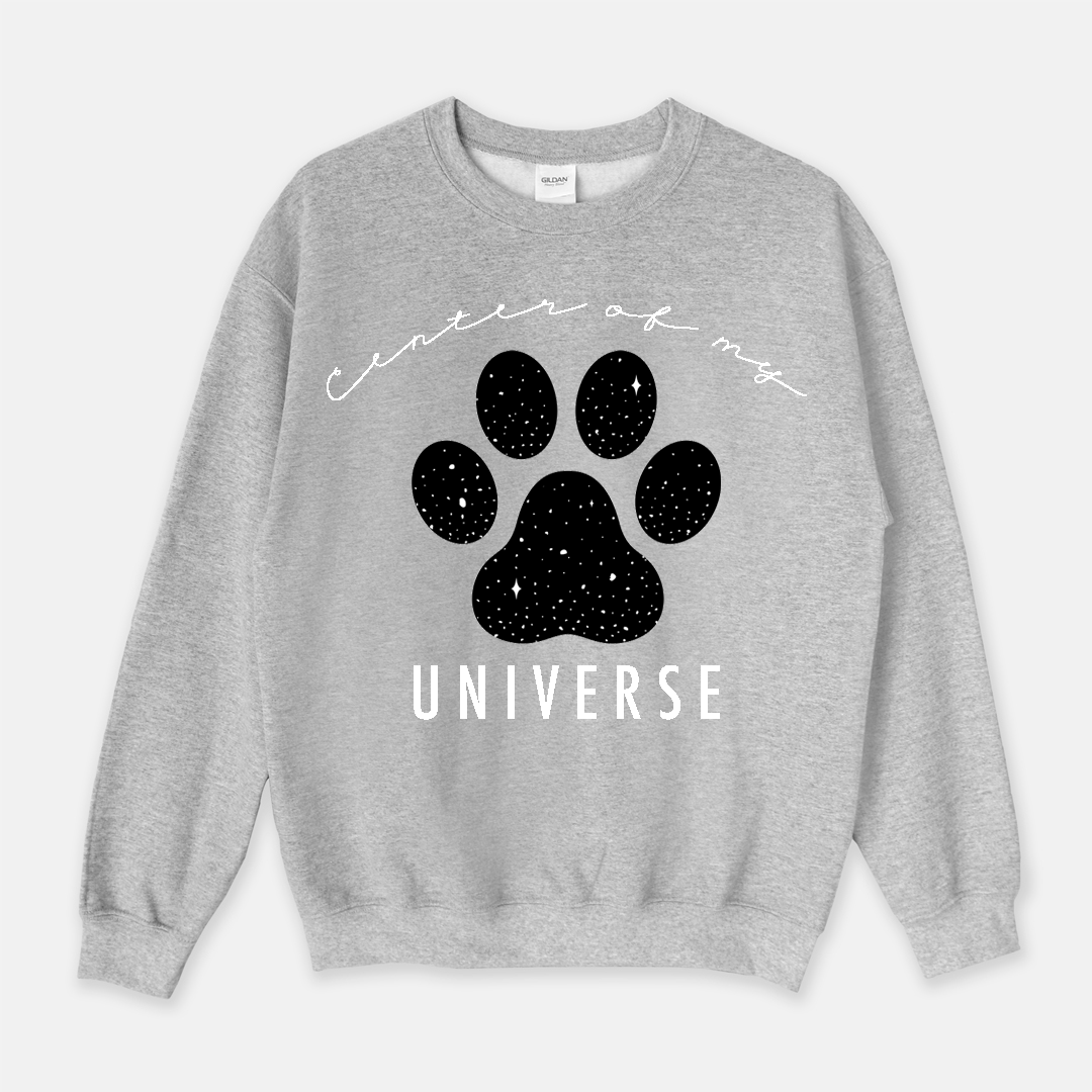 Center of My Universe Long Sleeves Sweatshirt