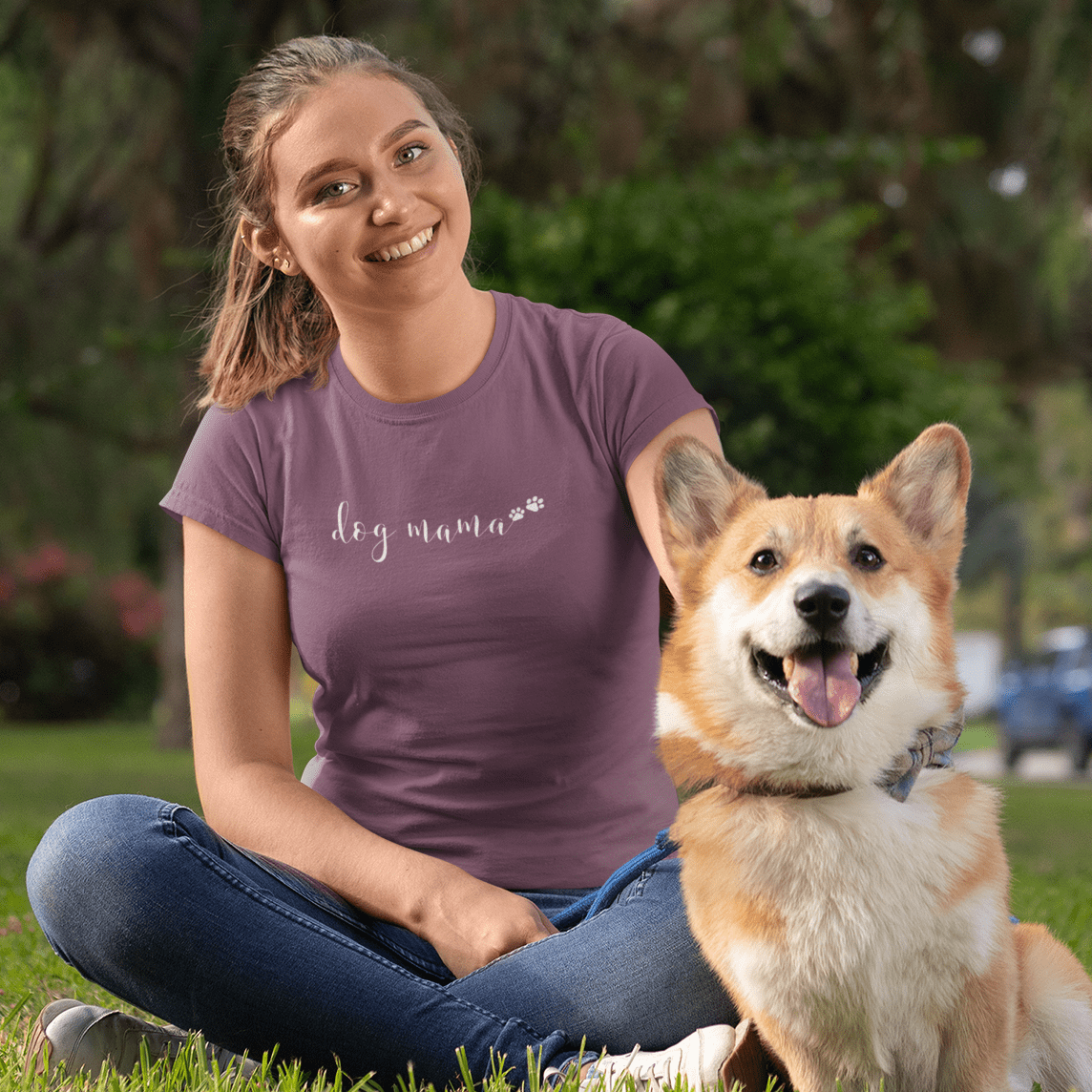 Dog Mama Short Sleeves Shirt