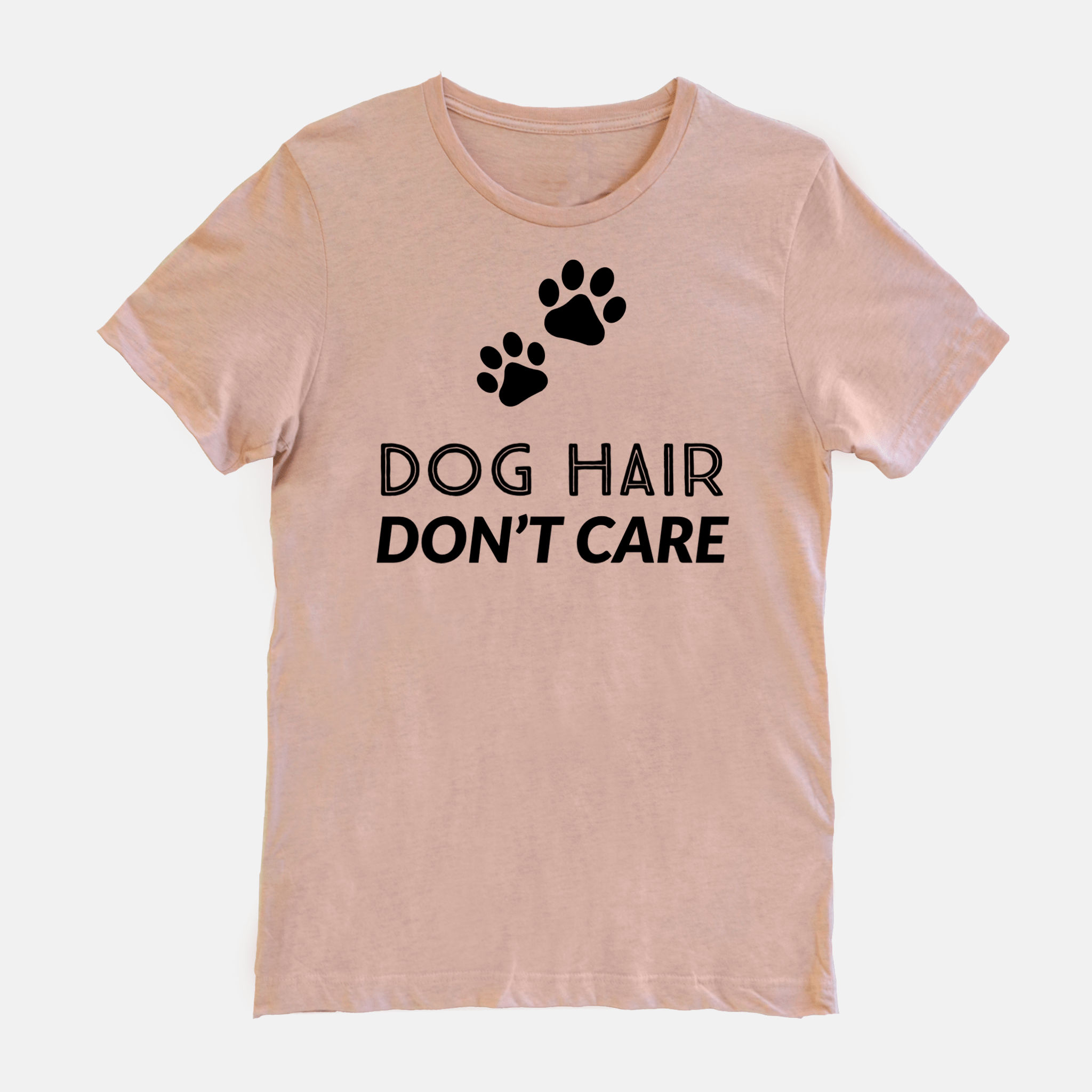 Dog Hair Don't Care Short Sleeves Shirt