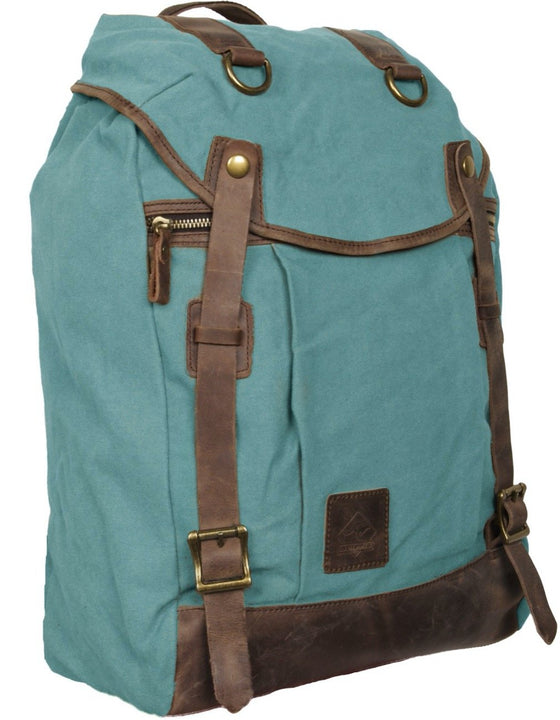 Scippis Coogee Backpack i vaxad canvas