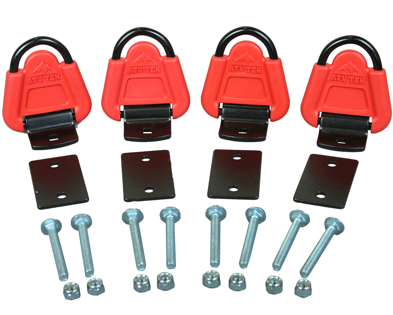 Straplock™ ATV/UTV Tie-Down Anchor Kit - 4-pack (#atvtda1)
