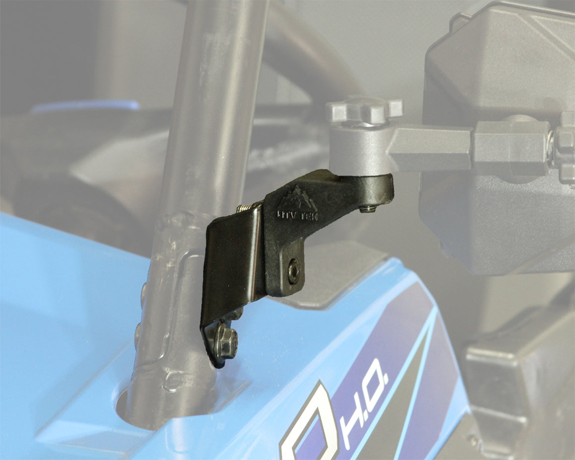 Elite Series Side Mirror Adapter - for Polaris® RZR®, General®, & Ranger® - (#PMIRKIT-1)