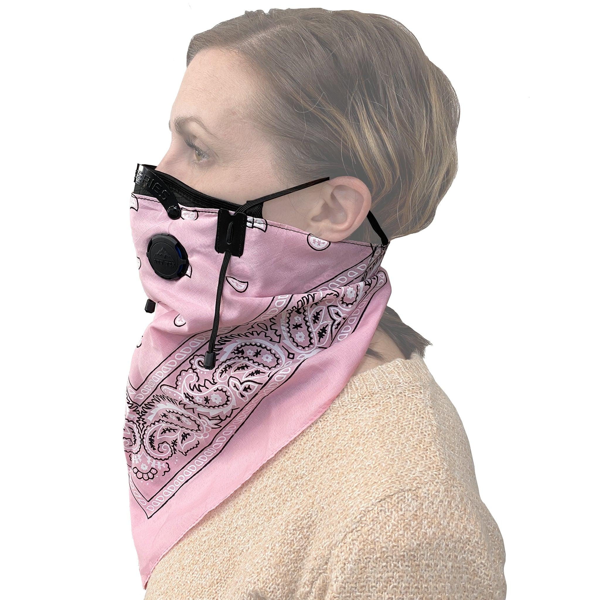 Bandana Style Dust Masks - Multi-color 3 Pack