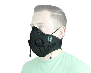 Elite Series Neoprene Dust Mask - Black (#edmblk)